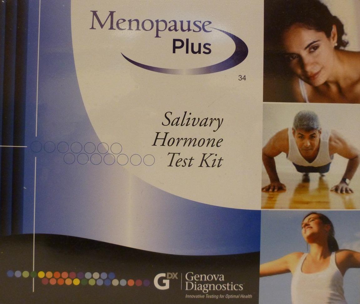 Menopause Plus Salivary Hormone Test Kit