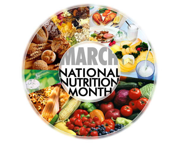 March is National Nutrition Month – Find Out What YOUR Body Needs