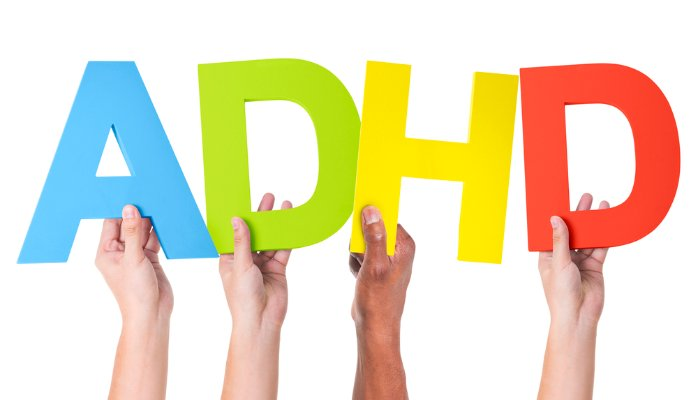 Attention Deficit, ADHD sign