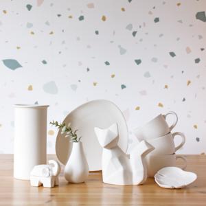 Pièces de céramique à peindre (avec cuisson)