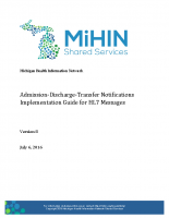 Admission-Discharge-Transfer Notifications Use Case Implementation Guide