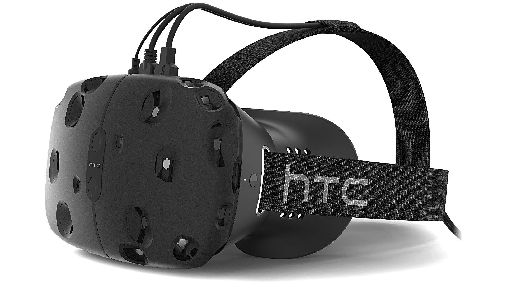 HTC Vive VR Head Mounted Display