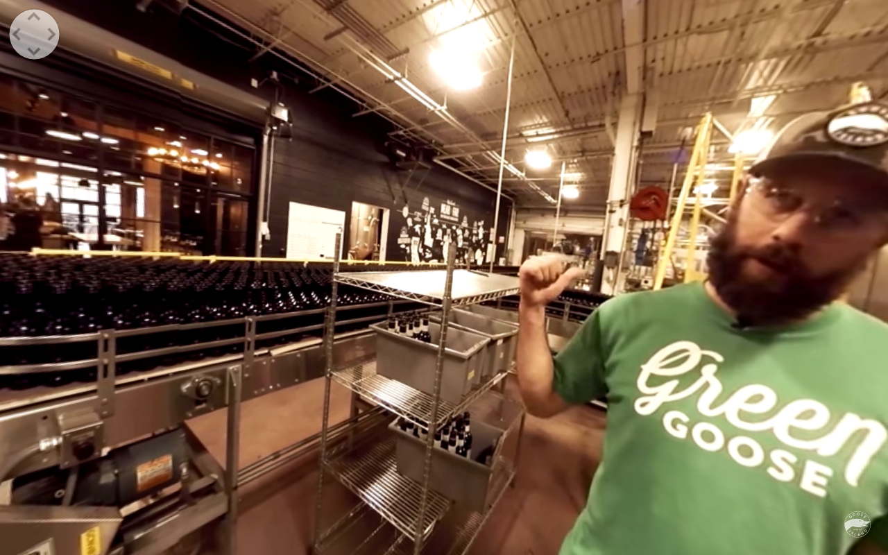 Goose Island Brewery Connects Consumers with their Process in VR