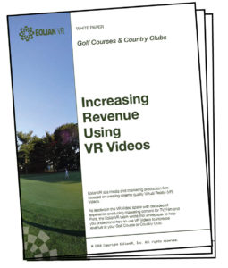 360 Video Production Services for Golf Courses