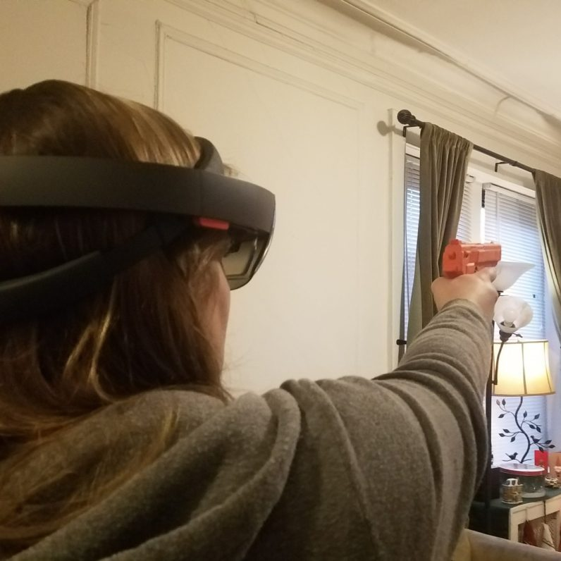 Eolian Unveils Mixed Reality Weapons Interface for Microsoft Hololens