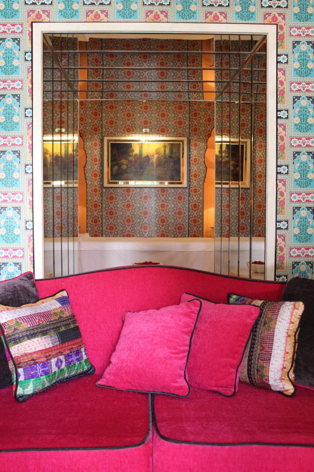 Spa at Sujan Rajmahal Palace Hotel. Image: Katrina Holden
