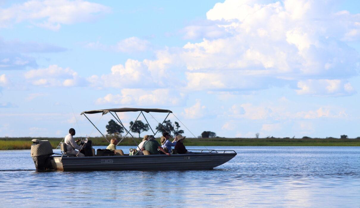 On the Chobe River Botswana. Credit: Katrina Holden
