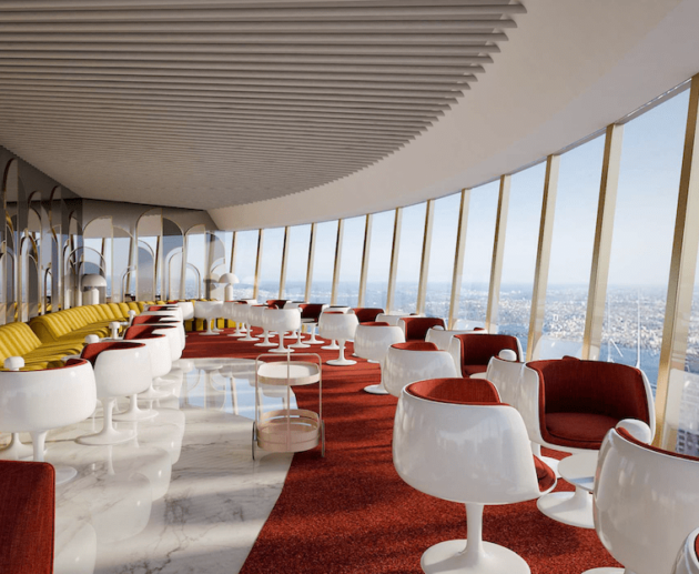 Bar 83 at Sydney Tower