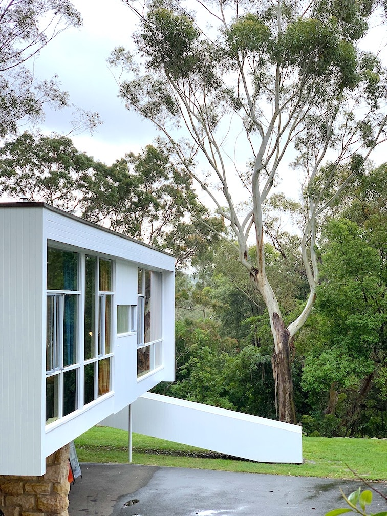 Rose Seidler House from the outside_image by Evelyn Aravena