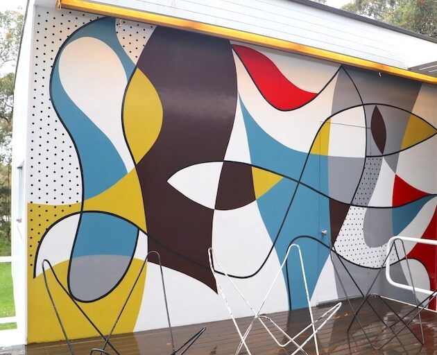 Rose Seidler House mural by Harry Seidler_image by Katrina Holden