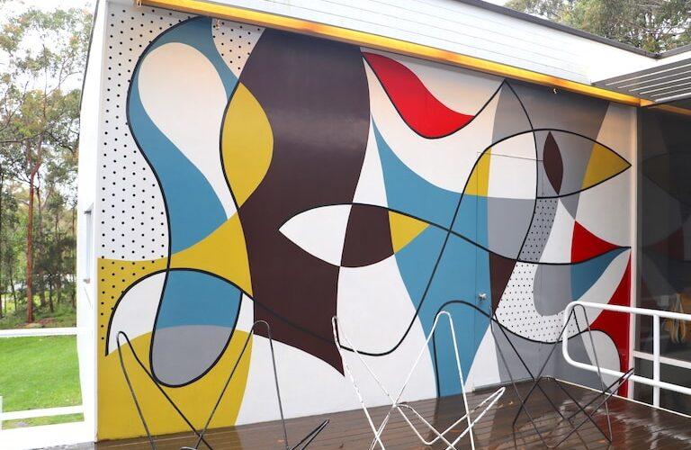 Rose Seidler House mural by Harry Seidler_image by Katrina Holden