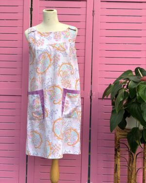 Vintage 1960s paisley dress