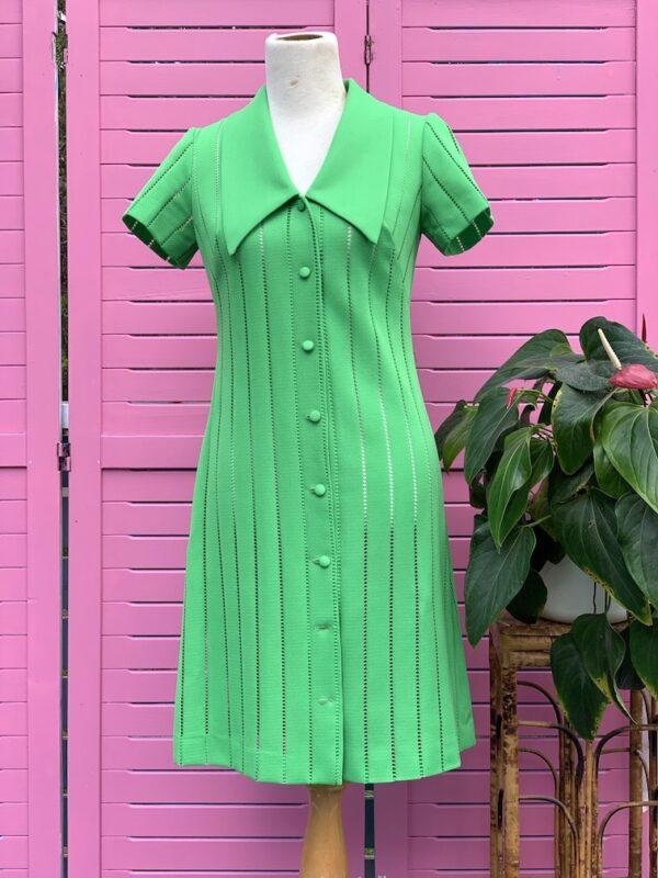 Vintage 1970s John J. Hilton dress