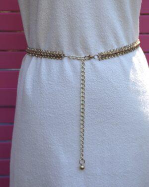 Vintage 1970s chain belt