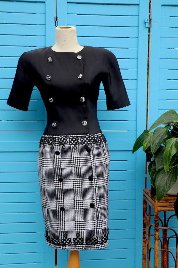 vintage 1990s George Gross dress