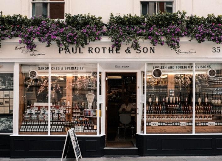Paul Rothe & Son shop Marylebone London