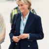 Diana in navy blazer 1