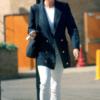 Diana in navy blazer