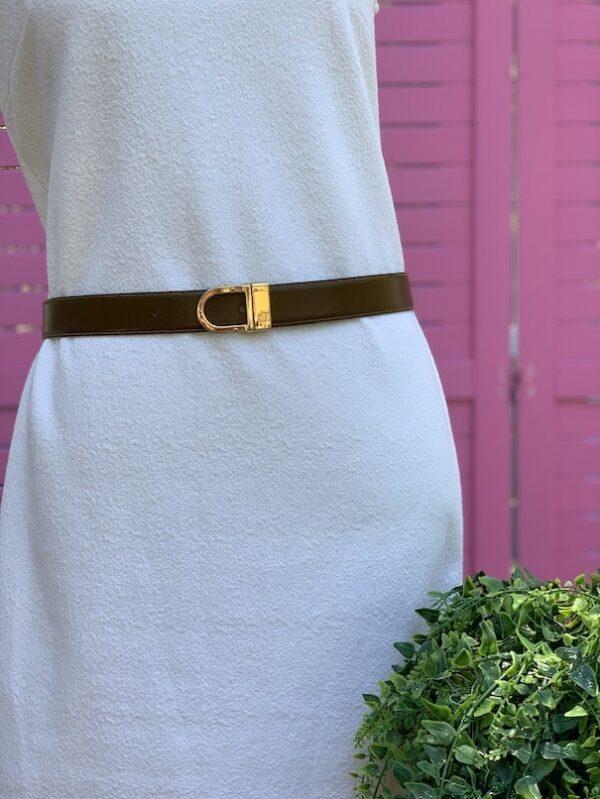Vintage Charles Jourdan belt