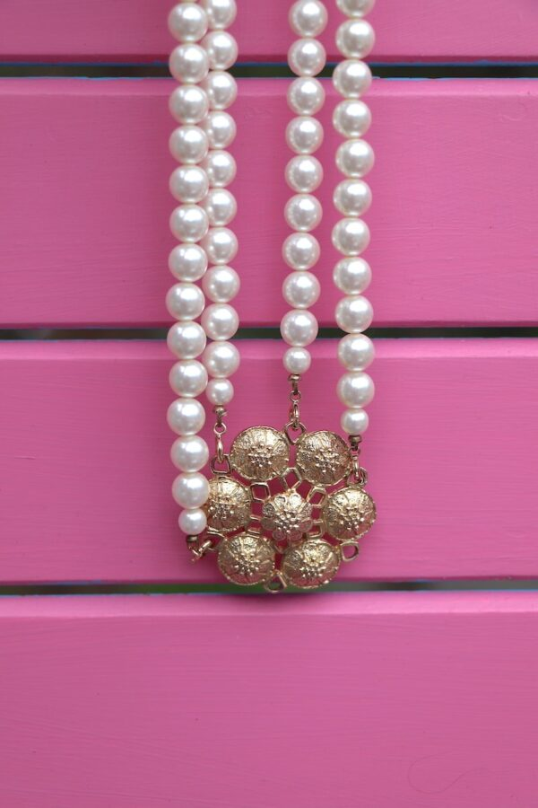 Vintage Sarah Coventry necklace and brooch
