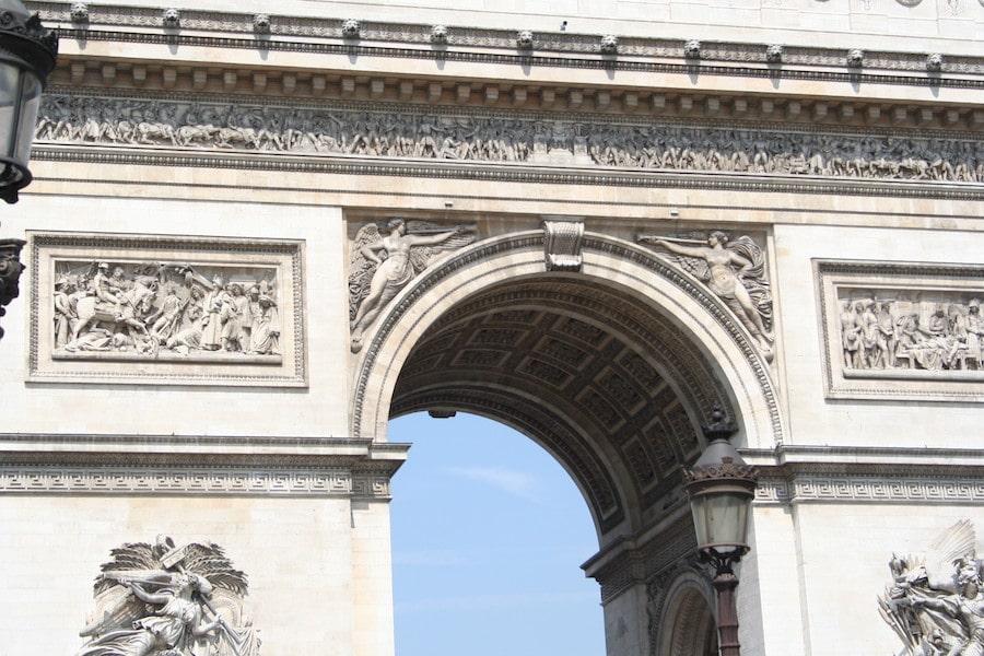Arc de Triomphe by Katrina Holden Vintage Travel Kat