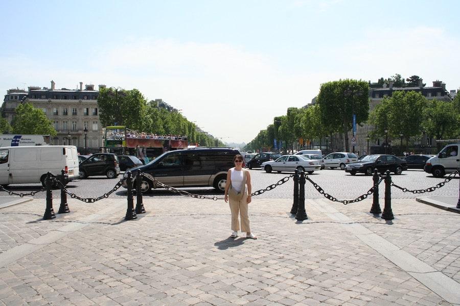 Katrina Holden Taken from the Arc de Triomphe 2005, looking back down the Champs-Élysées