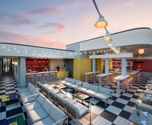 Hotel Indigo Adelaide Markets MerryMaker Rooftop Bar