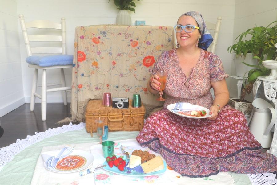 Indoor picnic in Robertson. Image: Vintage Travel Kat