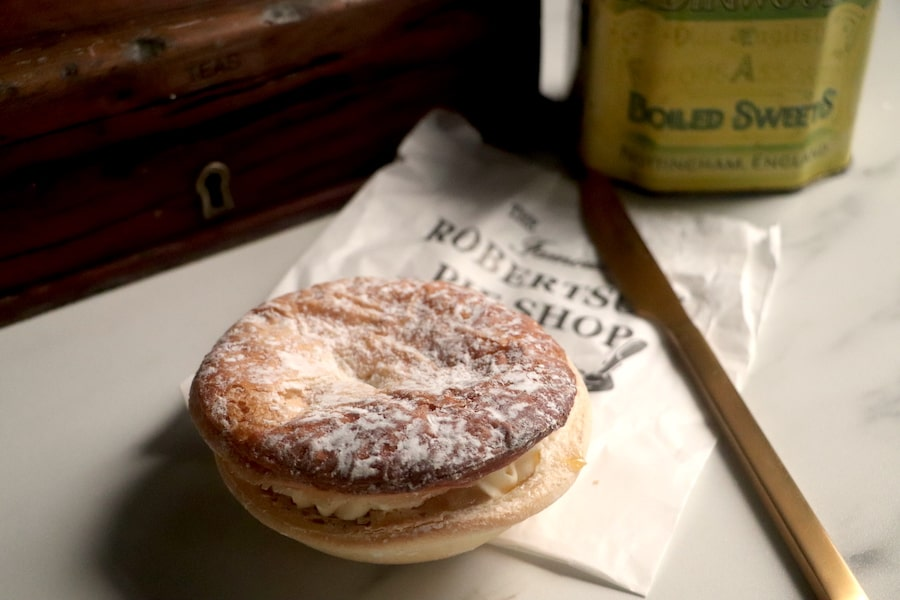 Apple pie from the Robertson pie shop. Image: Vintage Travel Kat