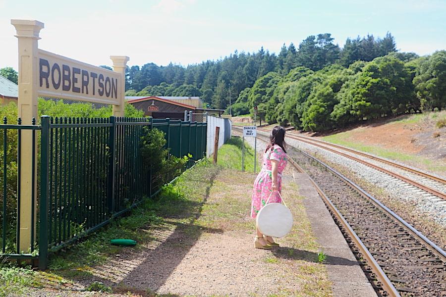 Robertson train station by Vintage Travel Kat