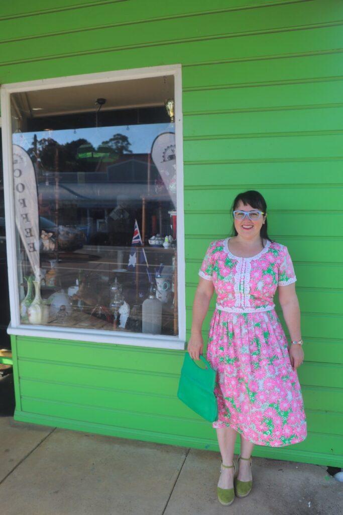 Outside Cafe 31 in Robertson. Image: Vintage Travel Kat