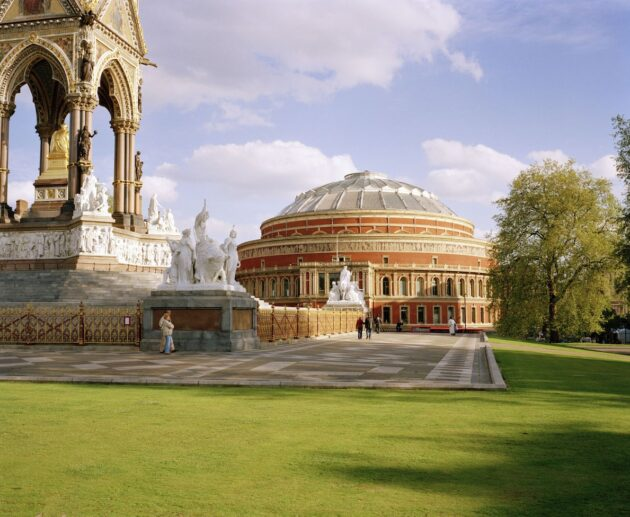 Albert Memorial and Royal Albert Hall North Entrance