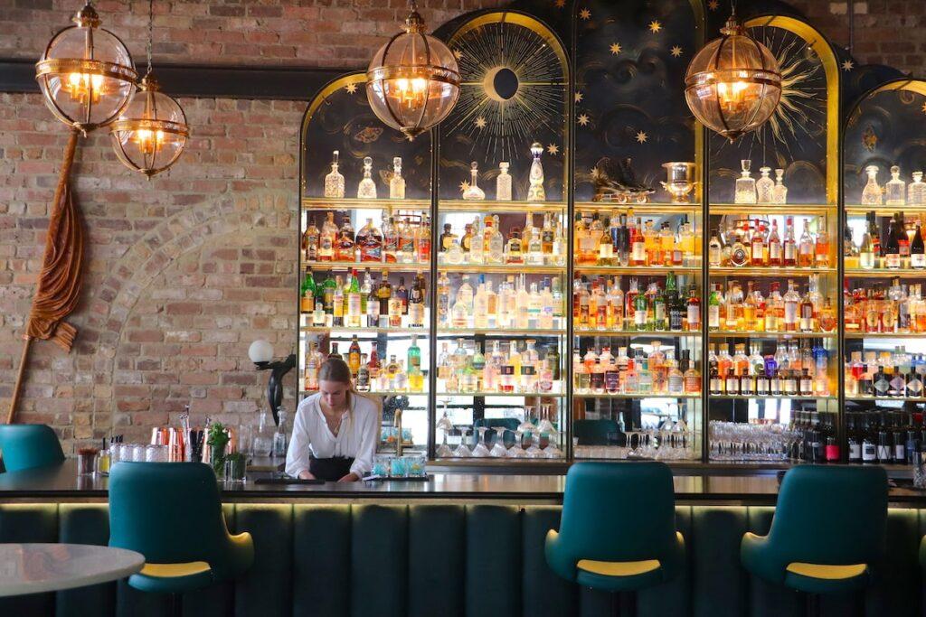 Queenies Bar by Vintage Travel Kat