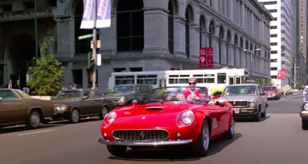 Ferris Bueller Ferrari in Chicago