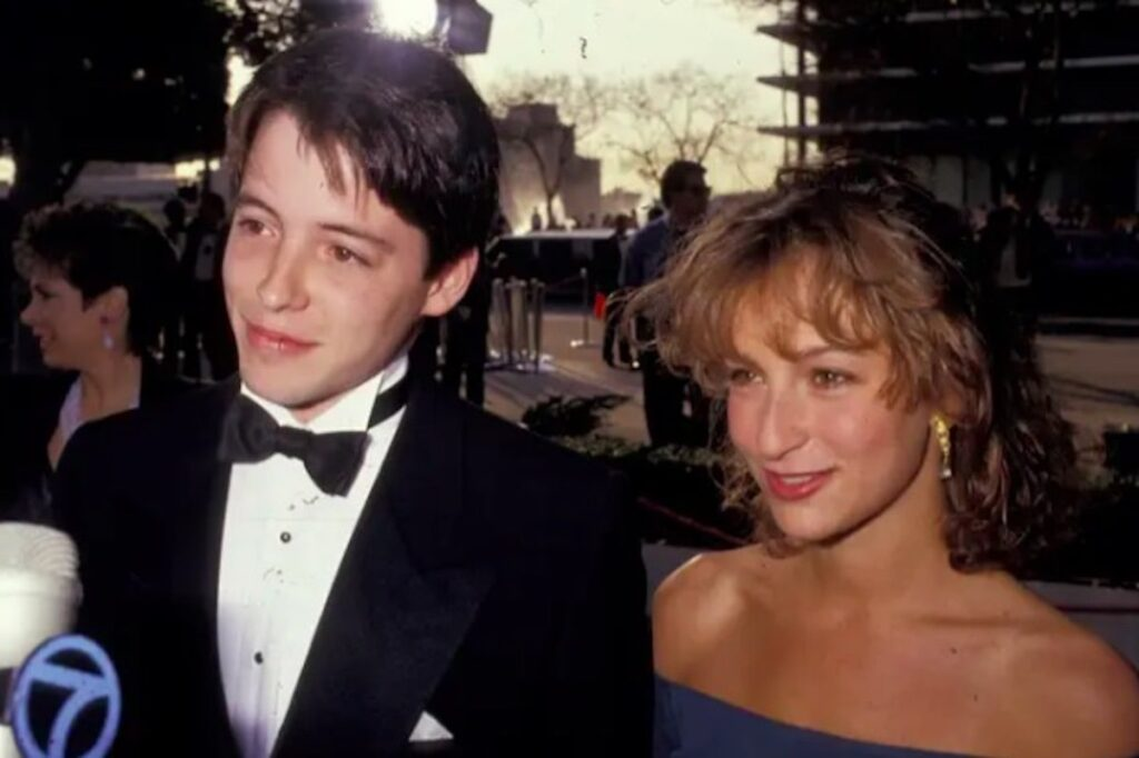 Ferris Bueller's Day Off_Matthew Broderick and Jennifer Grey by Ron Galella