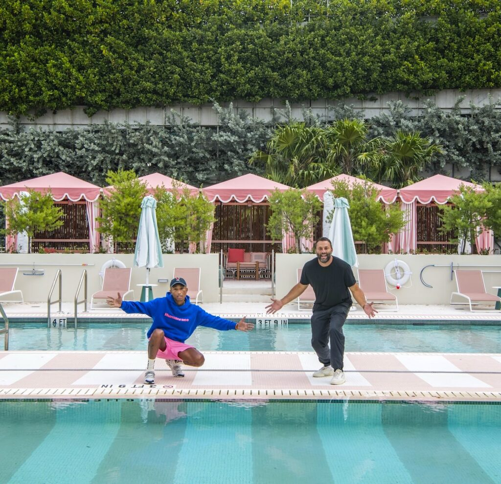 The Goodtime Hotel Pharrell Williams and David Grutman by Alice Gao