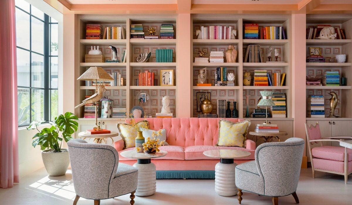 The Goodtime Hotel library by Alice Gao