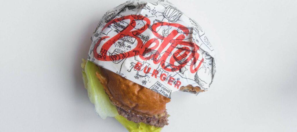 Better Burger engineers edible packaging