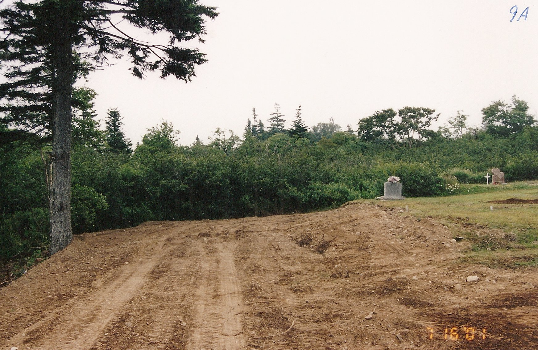 14 Clearing brush -rear 2