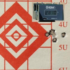 5-shot, 1/2 MOA grouping, 125gr PlainsMaster Bullets, 6.5 Creedmoor, 100 yards