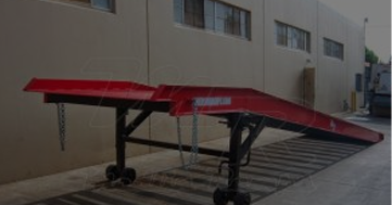Loading and Unloading is Easy with  Mobile Ramps