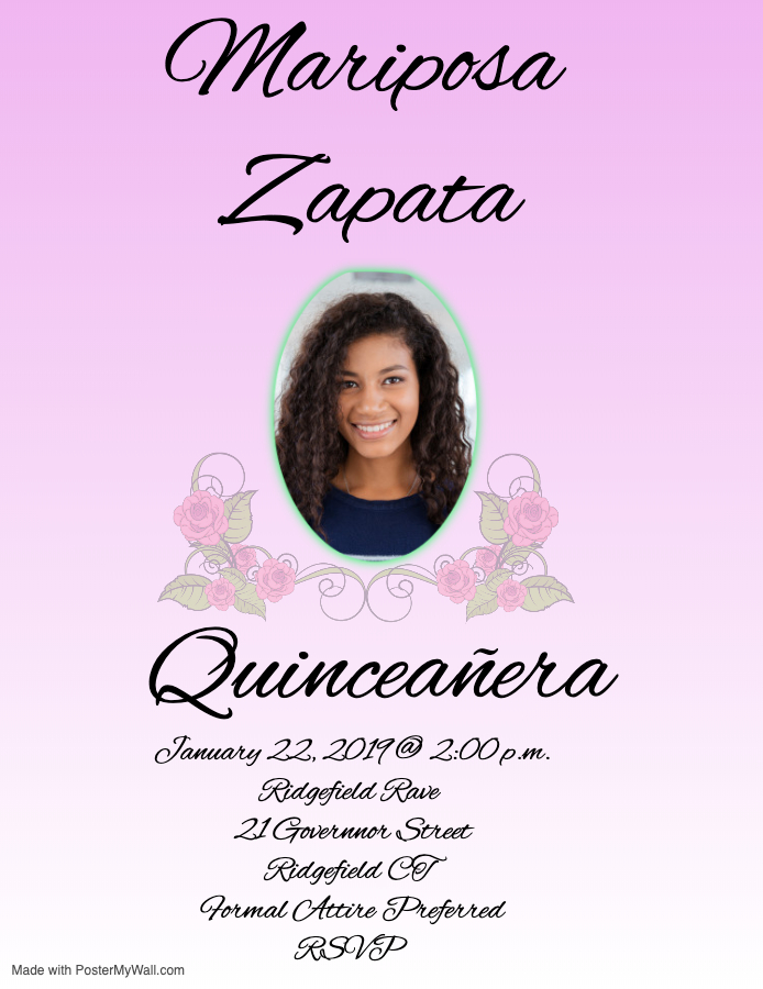 Copy of Quinceaera - Made with PosterMyWall