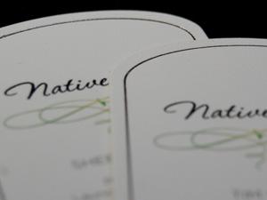 Business Cards, Foil & Die-Cut