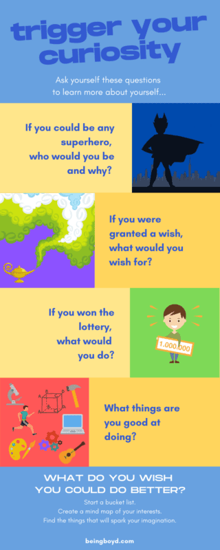 Trigger Your Curiosity - What do you wish you could do better? Learn about yourself | Ask yourself questions | creative thinking | critical thinking | problem solving