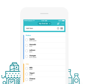 save time with Out of Milk shopping app | Guide to fast & easy meal planning | productivity | pantry cooking | kitchen cooking | simple eating