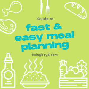 Guide to Fast and Easy Meal Planning