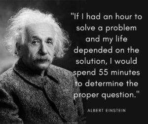 Determine the Proper Question