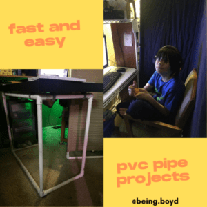 Making It Work – PVC Pipe Projects