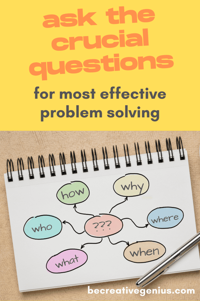 Knowing What to Ask – the Power of Questions | problem solving | critical thinking | life skills