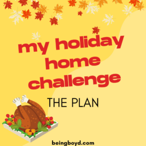 My Holiday Home Challenge